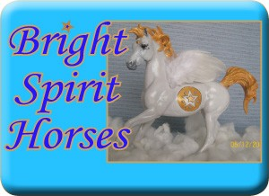 bright spirit horses web button half